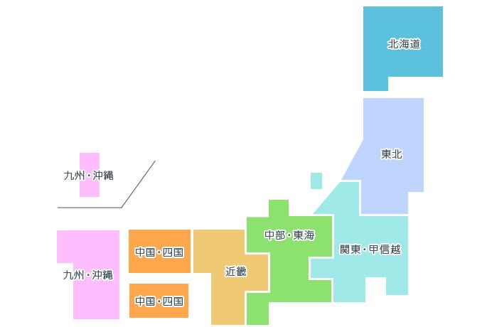 スバルディーラーホームページ検索エリアマップ